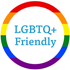 LGBTQ+ Friendly badge